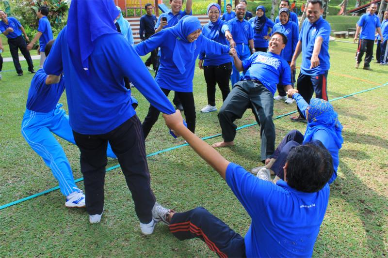 Outbound Training di Puri Asri Magelang