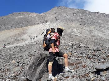 Trekking to Mount Merapi Summit